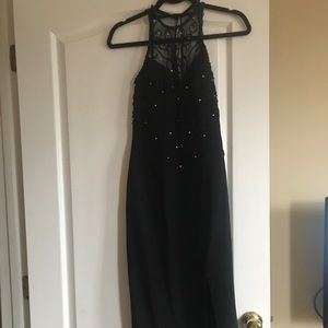 Dresses & Skirts - Black evening gown size 2 - Prom or Formal